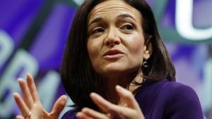 Sheryl Sandberg spricht über Tod und Rückschläge