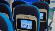 Sitzreihe 13: Im Flugzeug fehlt sie oft.