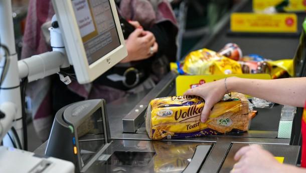 In der Eurozone sinken die Verbraucherpreise