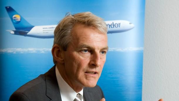 Ralf Teckentrup - Der Wirtschaftsingenieur ist Mitglied des Vorstandes der Thomas Cook AG und Geschäftsführer Charter-Fluglinie Condor.