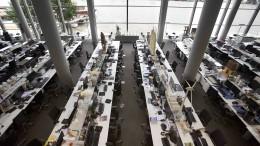 Warum Großraumbüros ein Gesprächskiller sind