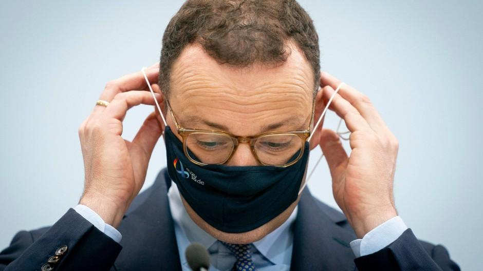 Jens Spahn im Coronakrisen-Modus