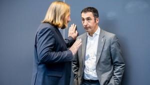 Grünen-Chef Özdemir kandidiert nicht für Fraktionsvorsitz