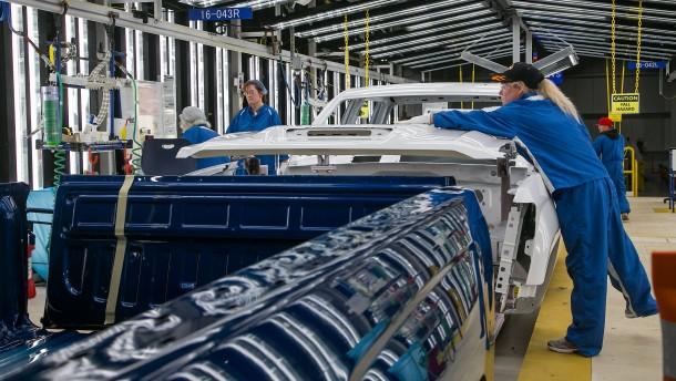 Wirtschaft in den USA erholt sich schneller