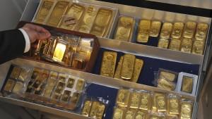 Italiener horten Gold in der Schweiz