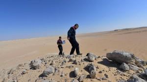 Hier üben die Österreicher für den Flug zum Mars