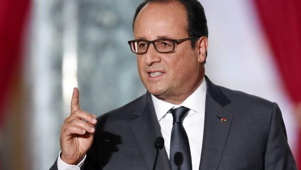 Hollande umwirbt jetzt die Mittelklasse