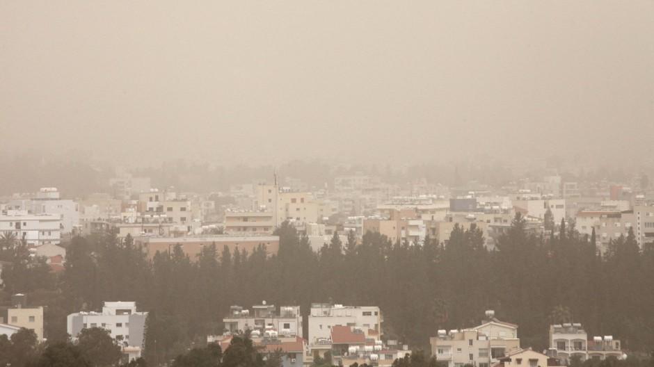 Schlechte Sicht in Nikosia