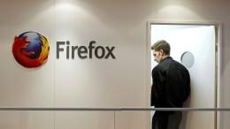 Auch Mozilla lässt das Internet vor Augen steigen