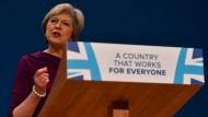 Großbritanniens Premierministerin Theresa May möchte ihr Land gravierend verändern.