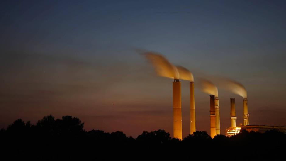 Ein Kohlekraftwerk von Duke Energy in Indiana