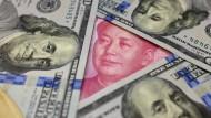 China und Amerika haben beide ein Interesse daran, dass der Yuan gegenüber dem Dollar nicht zu stark abwertet.