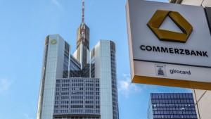 Commerzbank macht 527 Millionen Euro Verlust