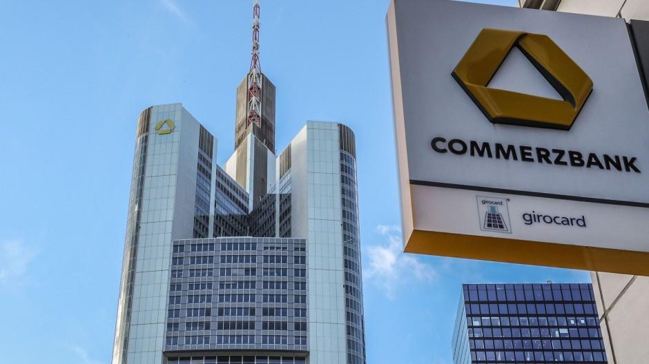 Hoher Turm, hohe Verluste: Der Commerzbank-Tower in Frankfurt am Main