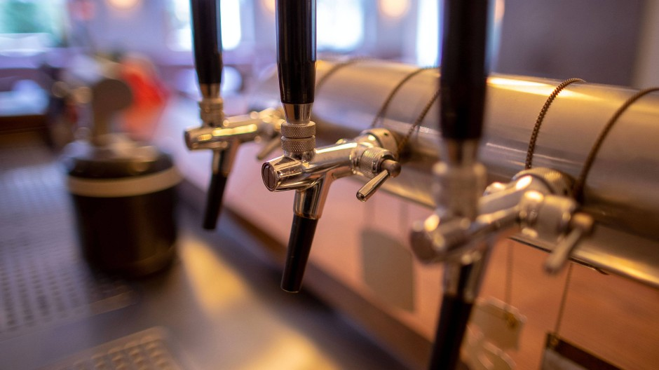 Zeit zum Putzen: Aus den Zapfhähnen floss im vergangenen Jahr nur wenig Bier.