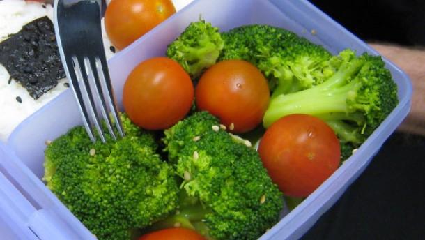 Geschütztes Gemüse
