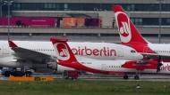 Bund ist gegen Komplett-Übernahme der Air Berlin