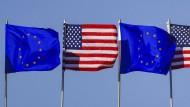 Das Abkommen der EU mit Amerika wird seit einiger Zeit kontrovers diskutiert.