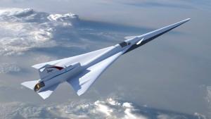 Nasa präsentiert Design für Überschallflugzeug