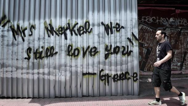 Griechen haben den Konfrontationskurs langsam satt