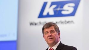 K+S-Chef stemmt sich gegen den Absturz
