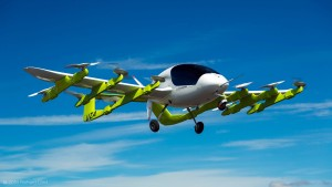 Google-Gründer Page zeigt elektrisches Lufttaxi