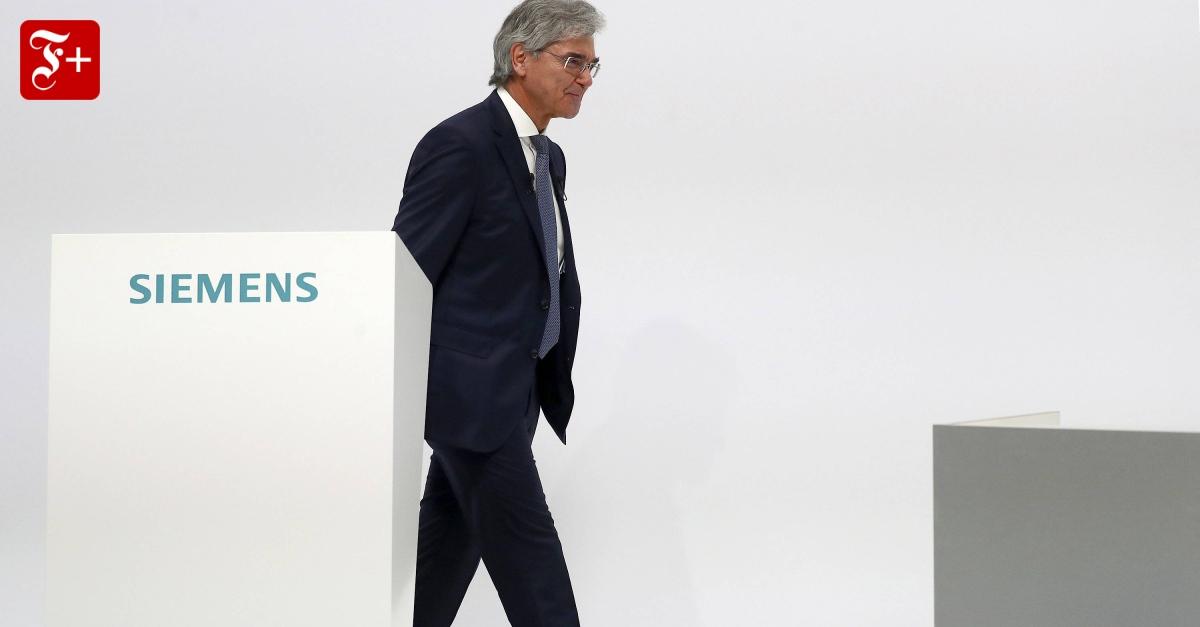 Siemens Joe Kaeser