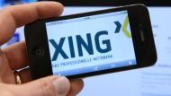 Xing setzt auf Empfehlungen von Mitarbeitern.