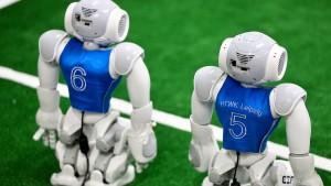 Geldregen für Roboter