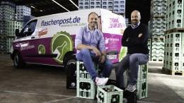 Flaschenpost.de greift in Frankfurt an