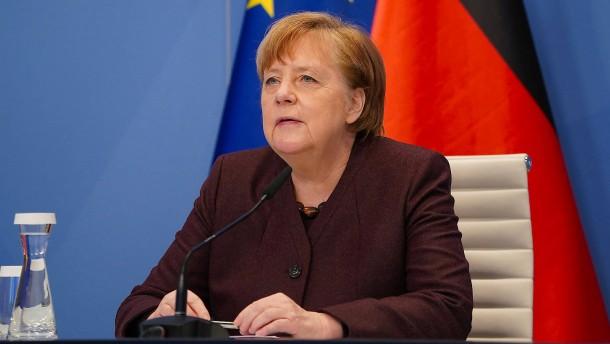 Merkel: Jetzt kommt die Zeit des Handelns