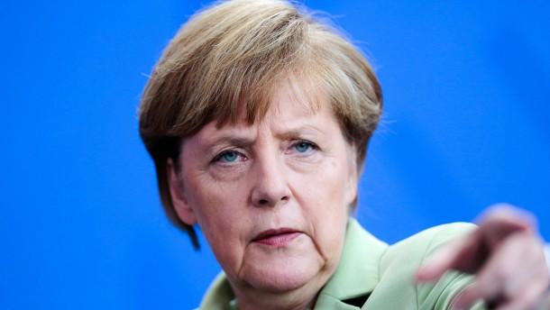 Merkel pocht auf Einhaltung des Stabilitätspaktes