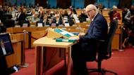 Phil Hogan während seiner Anhörung am 30. September 2019 in Brüssel: Sein Auftreten hat wohl den Ausschlag gegeben, um als Teil von Ursula von der Leyens Kommission bestätigt zu werden.