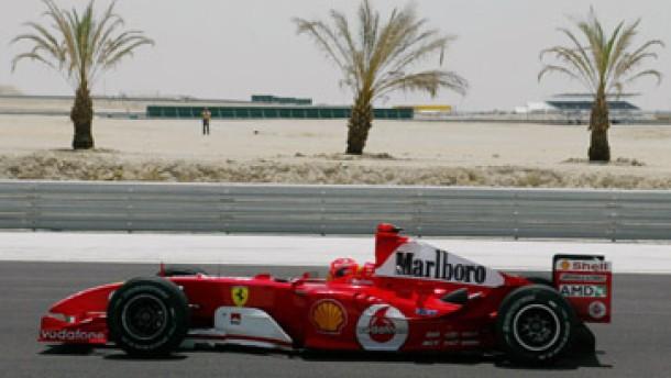 Mit der Formel 1 wendet sich der Blick wieder nach Bahrein