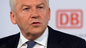 Bahnchef will Ende März neuen Lobbyisten vorschlagen
