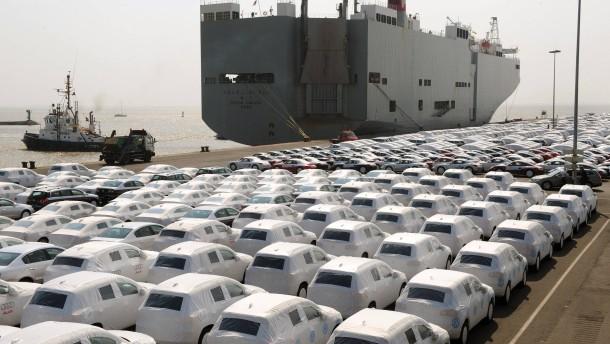 Autoexport geht zurück