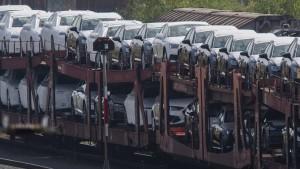 Europas Automarkt schrumpft um ein Fünftel