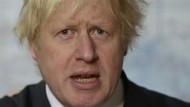 Boris Johnson will sorry sagen, wenn er falsch liegt
