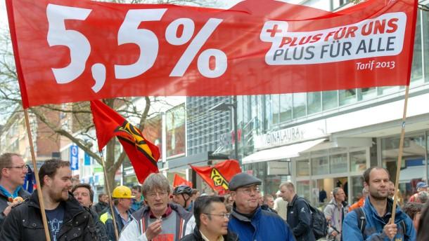 Metaller einigen sich auf höhere Löhne