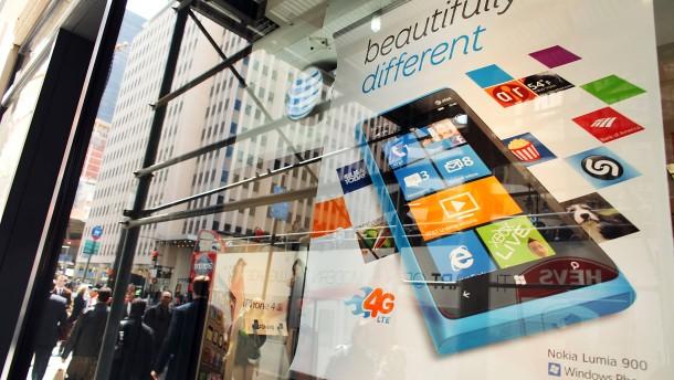 Herbe Rückschläge für Nokia