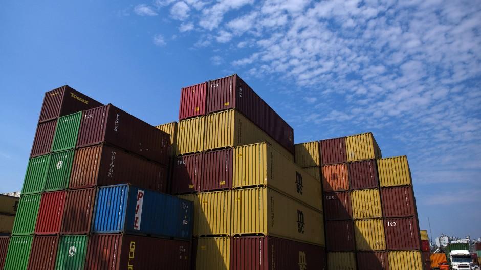 Der Außenhandel läuft wieder besser.