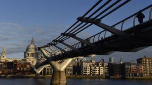 Blick auf London: Reiche Russen suchen hier nach Investments in Immobilien.
