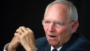 Schäuble kann auf hohes Plus in der Kasse hoffen