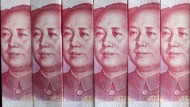 Chinas Notenbank hat gerade viele Yuan gekauft und dafür ihre Währungsreserven verringert. Sie hat trotzdem noch die größten der Welt.