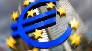 Euro-Inflation fällt auf 0,3 Prozent
