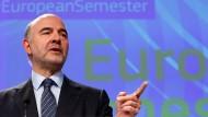 Hat neue Kompetenzen entdeckt: EU-Wirtschaftskommissar Pierre Moscovici