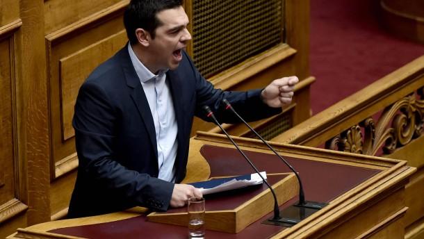 Griechenland bringt Europa gegen sich auf
