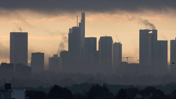 Skyline mit den Banken