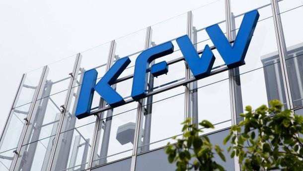 KfW erwartet fast 2 Milliarden Euro Gewinn
