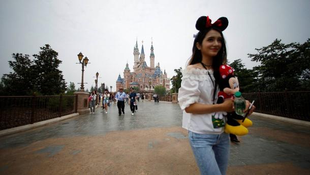 Micky Maus ist jetzt Chinese